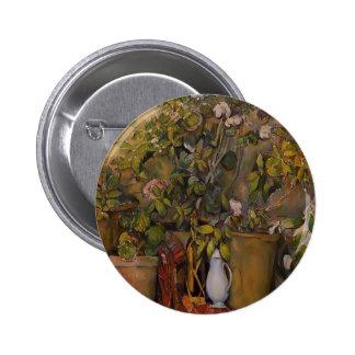 Paul Cezanne- Potted Plants Pins