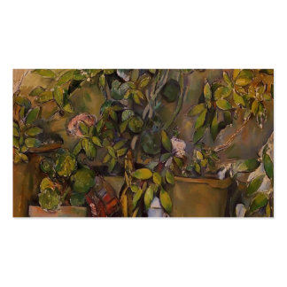 Paul Cezanne- Potted Plants Business Cards