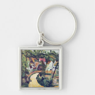 Paul Cezanne - Road bend Key Chains