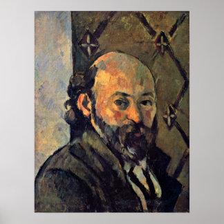 Paul Cezanne - Self-portrait from wallpaper Posters