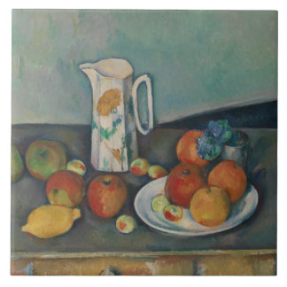 Paul Cezanne - Still Life Ceramic Tile
