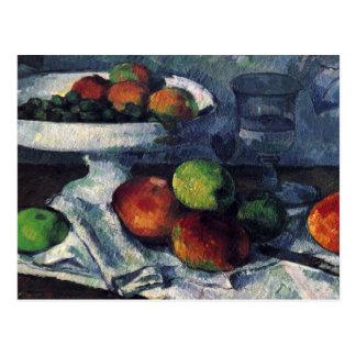 Paul Cezanne Still Life/Postcard Postcard