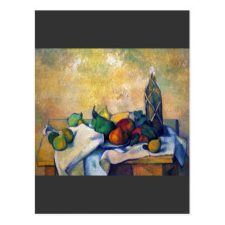 Paul Cezanne - Still life Rum Postcard