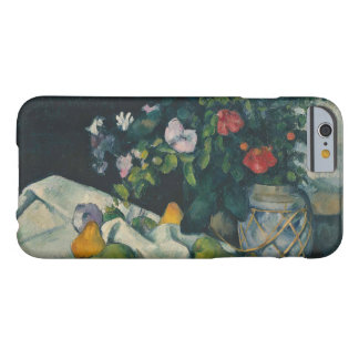 Paul Cezanne - Still Life with Flowers and Fruit Barely There iPhone 6 Case