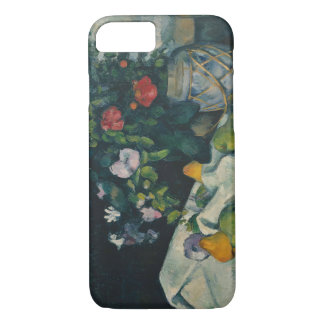 Paul Cezanne - Still Life with Flowers and Fruit iPhone 7 Case