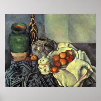 Paul Cezanne, Still Life with Fruit Print