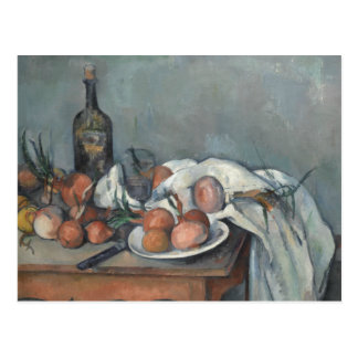 Paul Cezanne - Still Life with Onions Postcard
