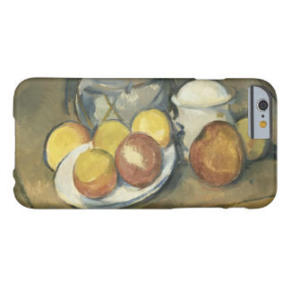 Paul Cezanne - Straw-Trimmed Vase, Sugar Bowl Barely There iPhone 6 Case