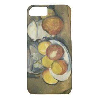 Paul Cezanne - Straw-Trimmed Vase, Sugar Bowl iPhone 7 Case