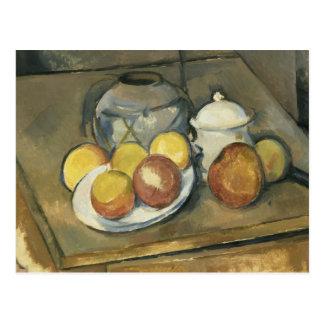 Paul Cezanne - Straw-Trimmed Vase, Sugar Bowl Postcard