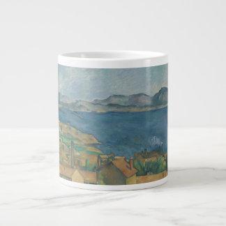 Paul Cézanne - The Bay of Marseilles Large Coffee Mug