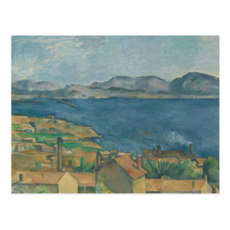 Paul Cezanne - The Bay of Marseilles Postcard