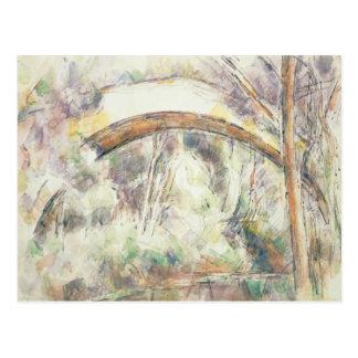 Paul Cezanne - The Bridge of Trois-Sautets Postcard