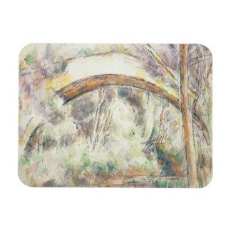 Paul Cezanne - The Bridge of Trois-Sautets Rectangular Photo Magnet