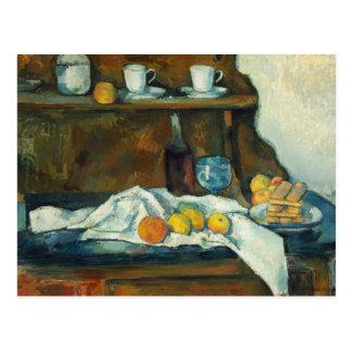 Paul Cezanne - The Buffet Postcard