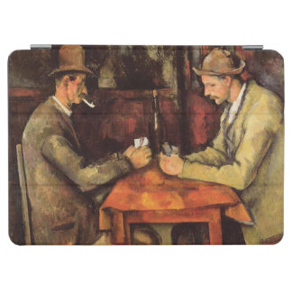 PAUL CEZANNE - The card players 1894 iPad Air Cover