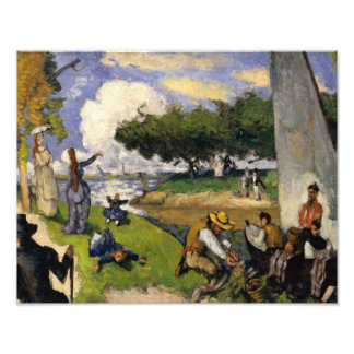 Paul Cezanne - The Fishermen Photo Print