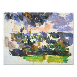 Paul Cezanne - The Garden at Les Lauves Photo