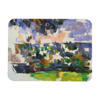 Paul Cezanne - The Garden at Les Lauves Rectangular Photo Magnet