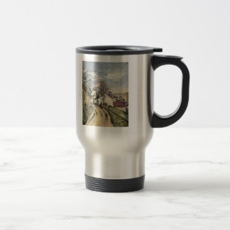Paul Cezanne- The House of Dr. Gached in Auvers Coffee Mugs