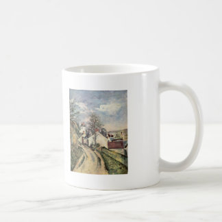 Paul Cezanne- The House of Dr. Gached in Auvers Mug