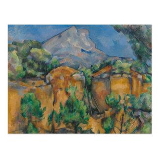 Paul Cezanne - The Mountain Sainte-Victoire Postcard