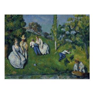 Paul Cezanne - The Pond Postcard