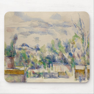 Paul Cezanne - The Terrace at the Garden Mouse Pad