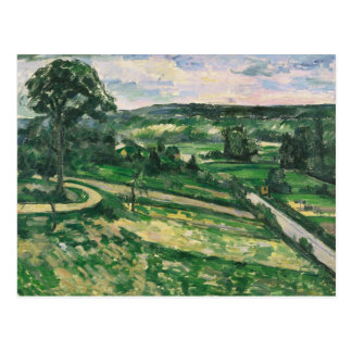 Paul Cezanne - The Tree by the Bend Postcard