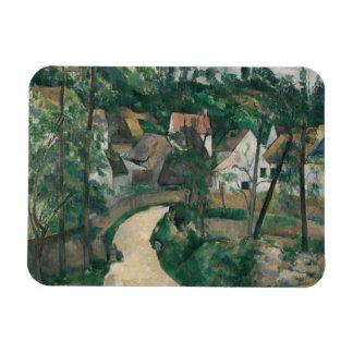 Paul Cezanne - Turn in the Road Rectangular Photo Magnet