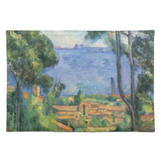 Paul Cezanne - View of L'Estaque and Chateaux d'If Placemat
