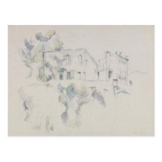 Paul Cezanne - View of the Chateau Noir Postcard