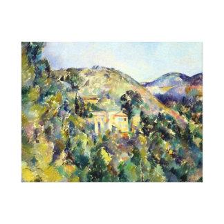Paul Cezanne View of the Domaine Saint-Joseph Canvas Print