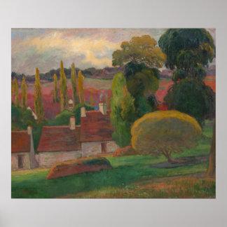 "Paul Gauguin ""Farm in Brittany"" art print"