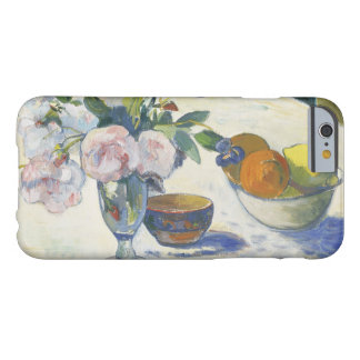 Paul Gauguin - Flowers and a Bowl of Fruit Barely There iPhone 6 Case