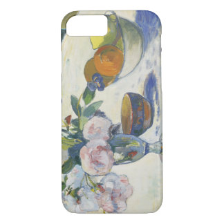Paul Gauguin - Flowers and a Bowl of Fruit iPhone 7 Case