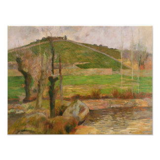 Paul Gauguin - Landscape near Pont-Aven Photo Art