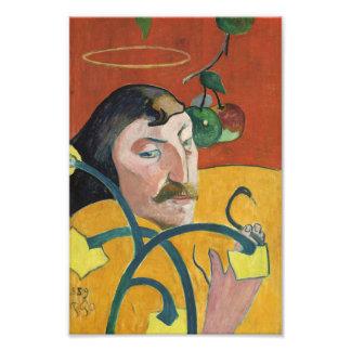 Paul Gauguin Self Portrait Fine Art Painting Art Photo