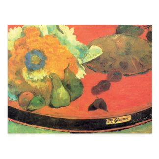 Paul Gauguin still life Postcard