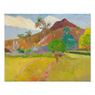 Paul Gauguin - Tahitian Landscape Photograph