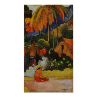 Paul Gauguin The moment of truth II Poster