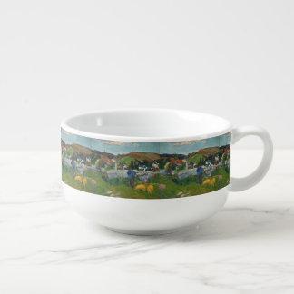 Paul Gauguin The Swineherd Soup Mug