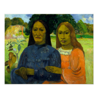 Paul Gauguin Two Women Poster