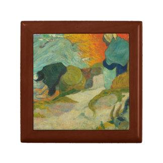 Paul Gauguin - Washerwomen in Arles Small Square Gift Box