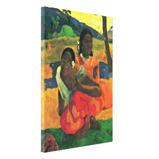 Paul Gauguin - When will you get married? Canvas Print