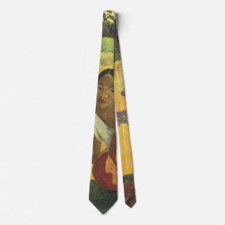 Paul Gauguin, When Will You Marry? Tie