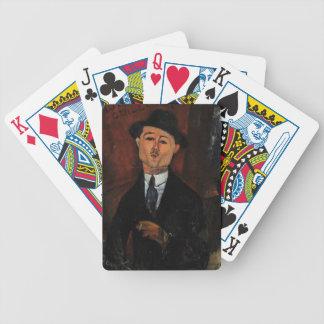 Paul Guillaume, Novo Pilota by Amedeo Modigliani Poker Deck