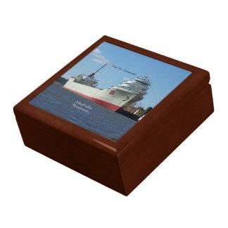 Paul H. Townsend keepsake box