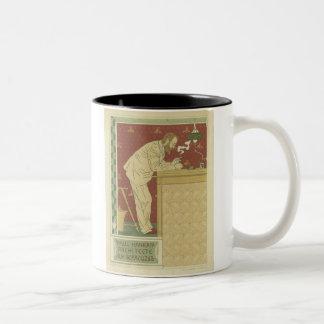 Paul Hankar Architecte Two-Tone Coffee Mug