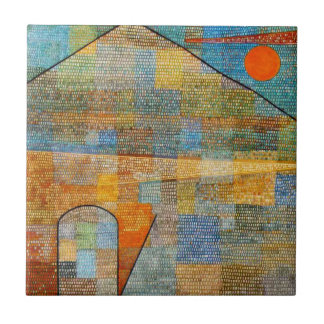 Paul Klee - Ad Parnassum Ceramic Tile